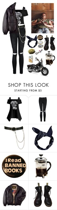 """Sons of Anarchy"" by cassie-paulke ❤ liked on Polyvore featuring Sons of Anarchy, Boohoo, Wet Seal, Primula, Dr. Martens and vintage"