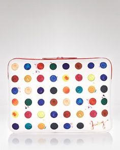 """Juicy Couture Watercolor 15"""" Laptop Sleeve"""
