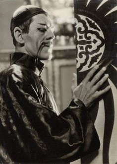 Boris Karloff in The Mask of Fu Manchu [1932]