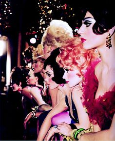 Las Vegas showgirls // Photo by Sammy Davis Jr.