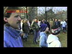 Retro z Chebu: 1990: Stržení sochy Lenina u chebského nádraží (Chebská t...