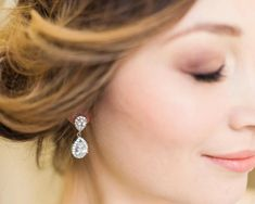 Luxury Wedding Earrings - Jules Bridal Jewellery