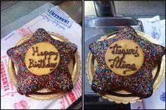 Happy birthday Alina!!!! Buon compleanno!!! Biscottificio Innocenti Roma Trastevere