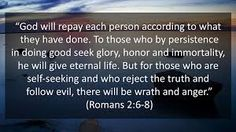Image result for romans 2 6-8