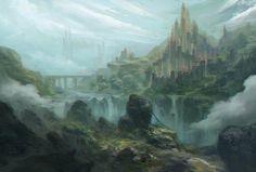 ArtStation - Castle, Ying Pin Liu