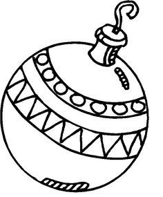 Printable A bauble decorating a Christmas tree coloring page - Printable Coloring Pages For Kids Bird Coloring Pages, Free Printable Coloring Pages, Coloring Pages For Kids, Mandala Coloring, Coloring Books, Christmas Ornament Coloring Page, Christmas Coloring Sheets, Christmas Balls Image, Christmas Bulbs