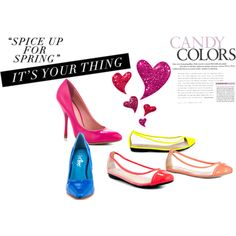 """""""spring shoes"""" by suzanne-methven on Polyvore"""