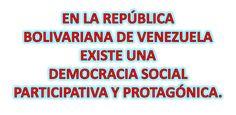 Ideología Socialista: EN VENEZUELA EXISTEUNADEMOCRACIA SOCIALPARTICIPA... Socialism, Venezuela