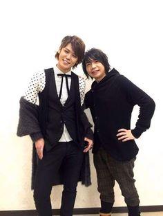 Miyano Mamoru and Suwabe Junichi