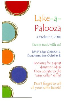 25 best fundraiser invitations images on pinterest carnival ideas