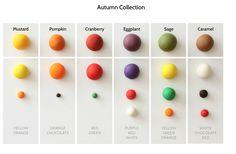Autumn Collection colour fondant