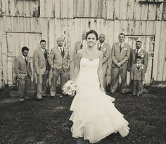 Christen + Justin: Rustic Elegance - Check it out on the Weddingstar Blog!
