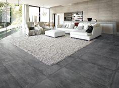 Vloertegel betonlook