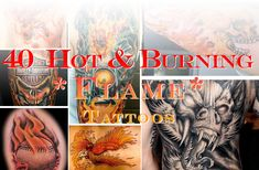 Summer is winding down, but that doesn't mean your fire or flame tattoo will burn out and lose its heat. Flame tattoos are a specialized form of ink that...