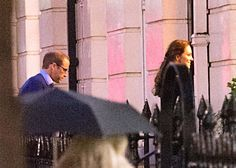 Kate Middleton, Duchess of Cambridge, pregnant with Prince William. On Wednesday evening, October 15, the Duke and Duchess of Cambridge were spotted leaving a London doctor's office, where it is reported they saw a sonogram of their new baby for the first time.