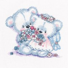 """Together Counted Cross Stitch Kit-9""""X8.75"""" 14 Count"""