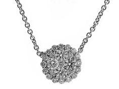 Cluster Diamond Pendant Style ID: 9211
