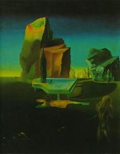 The Mysterious Source of Harmony - Salvador Dali