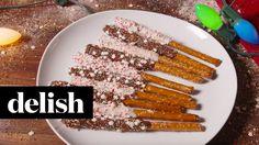 Holiday Pretzel Rods | Delish