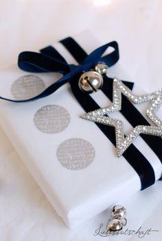 Liebesbotschaft - schön verpacken mit Stempeln