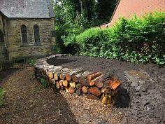 Garden Shrubs, Garden Edging, Terrace Garden, Sloped Garden, Raised Garden Beds, Raised Beds, Back Gardens, Outdoor Gardens, Cerca Natural