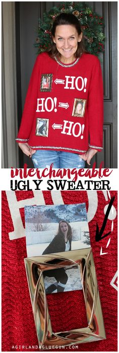 Easy Ugly Sweater!