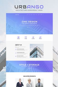 WordPress Template , Urbango - Architecture Firm