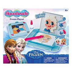 Create your bead art, spray with water, let it dry and your creation is complete! Create your favorite Frozen characters – Elsa, Anna and Olaf! This set contains over 900 classic and jewel beads in 14 colors Frozen Disney, Christmas Planning, Christmas Gift Guide, Christmas Gifts, Kids Christmas, Crafts To Make, Arts And Crafts, Frozen Crochet, Beading For Kids