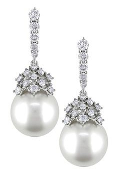 14K White Gold Diamond  via: