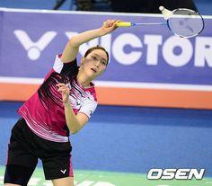 Michel : 성지현, 아시아 배드민턴 여자 단식 우승