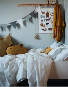 kid's room inspiration more inspiration Boys Room Decor, Girl Room, Kids Bedroom, Bedroom Ideas, Blue Bedroom, Toddler Rooms, Kids Room Design, Nursery Inspiration, Trendy Bedroom