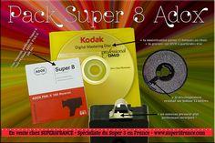 Pack Super 8 Adox