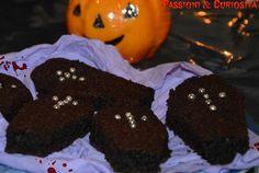 #brownies #halloween #chocolate #sweet #food #cake http://passioniandcuriosita.blogspot.it/2015/10/brownies-terrificanti.html