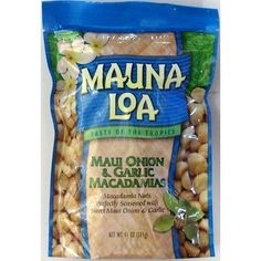 Mauna Loa Macadamias, Maui Onion and Garlic, 11-Ounce Packages (Pack of 2) ** Review more details @ : Fresh Groceries