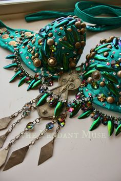 Beetle Queen bra by the Verdant Muse