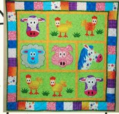 Jacob's Funny Farm quilt pattern by Quiltsbybarb on Etsy, $10.00