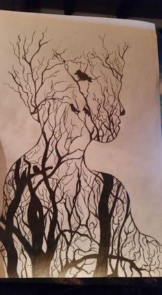 Pencil drawing/art