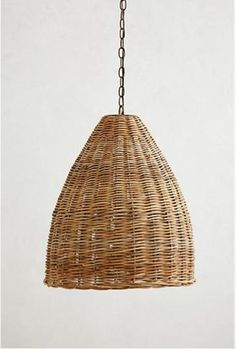 woven pendant lights - Google Search