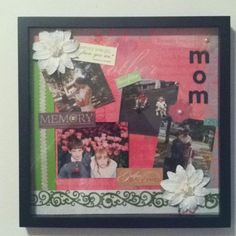 Shadow box is a box where you keep many memories there. To decorate it we have many variant shadow box ideas that could make it more interesting. Dog Shadow Box, Shadow Box Picture Frames, Military Shadow Box, Shadow Box Display Case, Wooden Shadow Box, Girl Shadow, Diy Xmas Gifts, Easy Diy Gifts, Christmas Gift Box