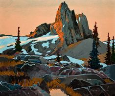 An Afternoon at Black Tusk, by Robert Genn