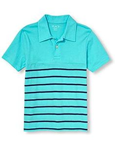 Childrens Place Boys Striped Gulfstream. *** Want to know more, click on the image. (This is an affiliate link) #PolosShirts