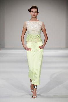 Muscat Fashion Week Review | Style.com/Arabia skirt length