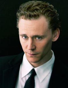 Tom Hiddleston. Wow, he does the smolder better than Flynn Rider... lol. XD