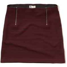 Hollister Zip Jacquard Bodycon Skirt ($15) ❤ liked on Polyvore featuring skirts, mini skirts, burgundy stripe, body con skirt, jacquard skirts, zipper skirt, red mini skirt and bodycon mini skirt