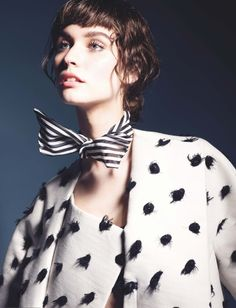 Manon Leloup by Liz Collins for Numero #145 August 2013