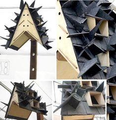 Housing On The Wing: 10 Bitingly Bizarre Bat Houses - WebEcoist