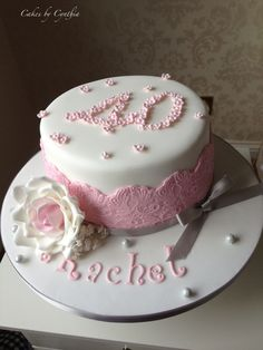 Strawberry birthday cake Wedding cakes London Hertfordshire