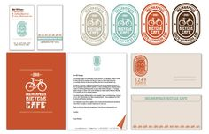 Bicycle Cafe Branding