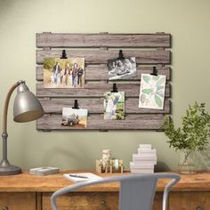 Sabina Pallet Picture Frame - For the Home - Pallet Picture Frames, Pallet Pictures, Pallet Frames, Pallet Picture Display, Rustic Frames, Wood Frames, Pallet Furniture And Decor, Diy Furniture Projects, Diy Pallet Projects