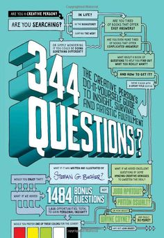 344 Questions: The Creative Person's Do-It-Yourself Guide to Insight, Survival, and Artistic Fulfillment: Amazon.ca: Stefan G. Bucher: Books